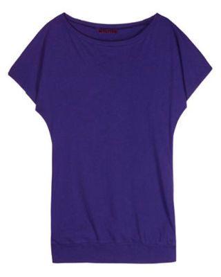 Shop Chic - Velvet cotton t-shirt