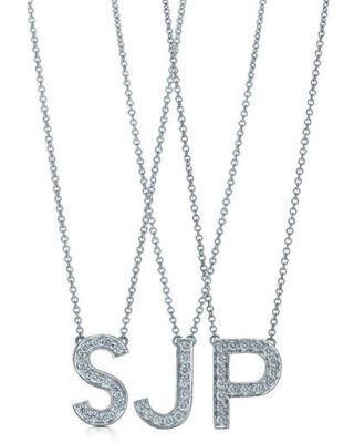 celebrity fashion - SJP Tiffany necklace