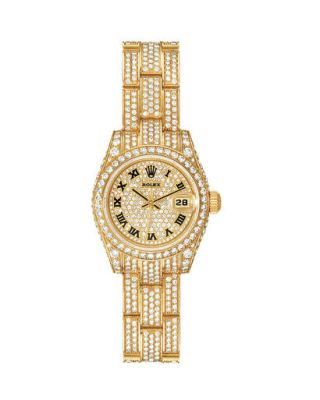 Product, Analog watch, Wrist, Glass, Font, Watch, Beige, Metal, Clock, Brand,