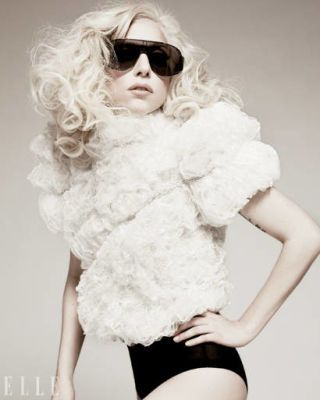 Lady Gaga January ELLE Cover Shoot