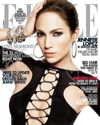 Jennifer Lopez February 2010 cover