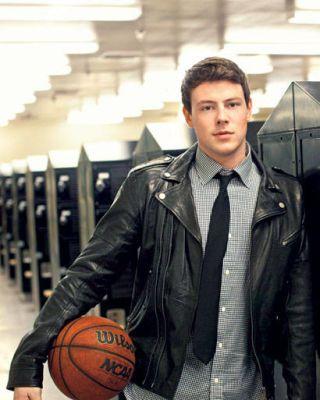 Glee's Corey Monteith