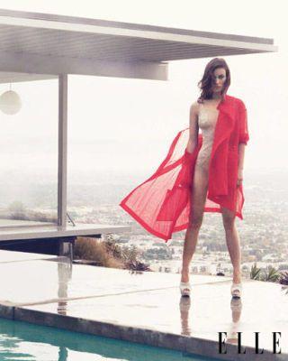Olivia Wild spring fashion