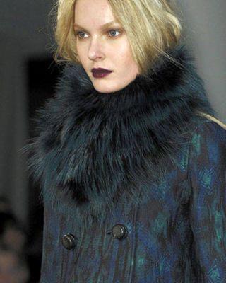 Proenza Schouler fur-trimmed coat
