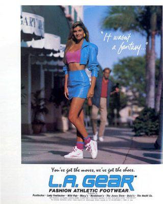L.A. Gear ad 1988
