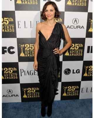 Maggie Gyllenhaal at the 2010 Spirit Awards