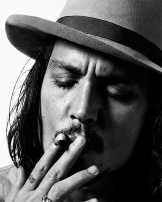 Johnny Depp shot by Tom Munro