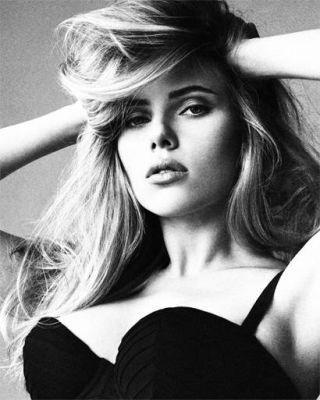 Scarlett Johansson shot by Tom Munro