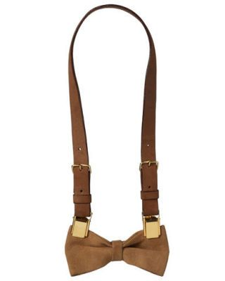 Baptiste Viry bow-tie necklace