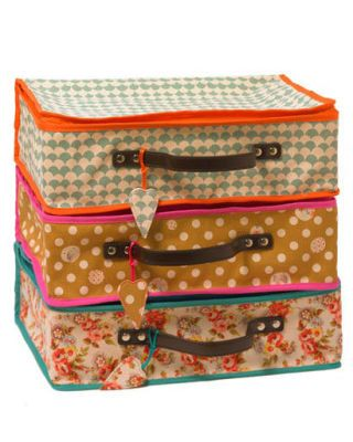 Lale Printed Suitcases