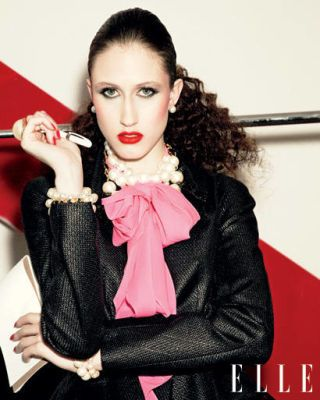 Hair, Lip, Hairstyle, Style, Eyelash, Fashion, Jacket, Body jewelry, Long hair, Eye liner,