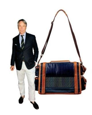solar-powered Tommy Hilfiger bag