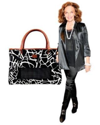 solar-powered Diane von Furstenberg bag