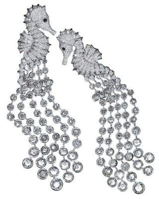 Chopard Seahorse Earrings