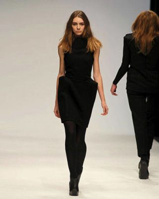 Thomas Tait Central St Martins runway images