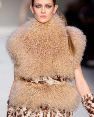 Monogolian lamb vest