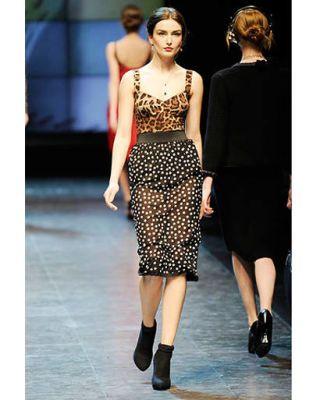 Dolce &amp&#x3B; Gabbana, fall 2010