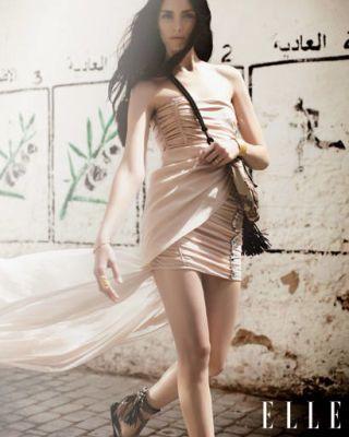 Leg, Skin, Shoulder, Shoe, Human leg, Photograph, Dress, Style, Black hair, Beauty,