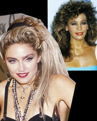 Madonna, Whitney Houston
