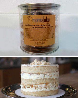 Momofuku apple pie cake and cookie tin