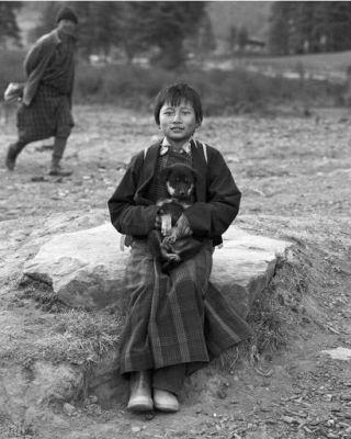 Schoolgirl, Bhutan, 2010