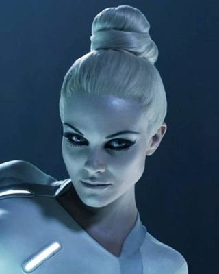 Olivia Wilde Tron Hair