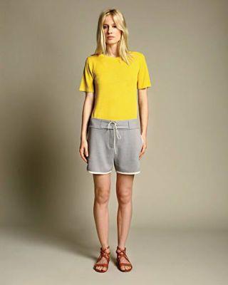 Brown, Human body, Sleeve, Human leg, Shoulder, Standing, Textile, Joint, White, Denim,