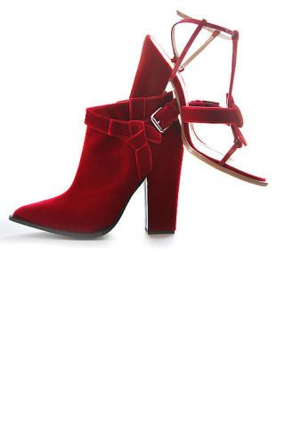 Red, Carmine, High heels, Maroon, Boot, Leather, Sandal, Fashion design, Synthetic rubber, Basic pump,