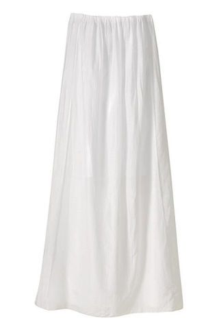 Cotton and silk skirt, United Colors
