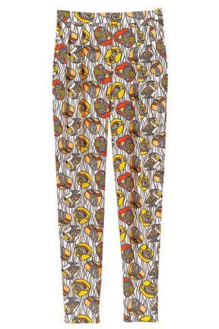 Silk pants, Tucker