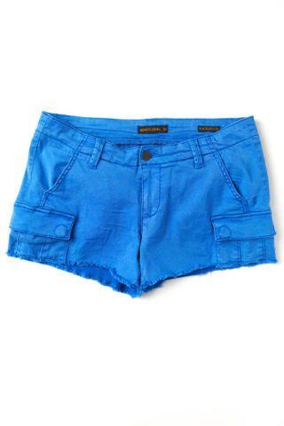 Free People genetic cut off cargo shorts