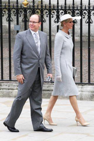 Prince Albert II of Monaco and Miss Charlene Wittstock