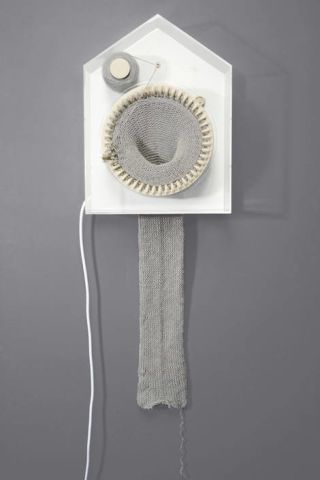 365 Knitting Clock by Siren E. Wilhelmsen