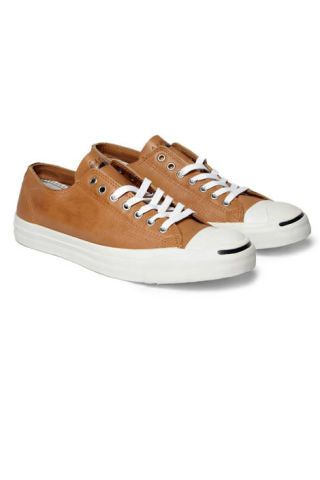 Converse leather Jack Purcell sneakers