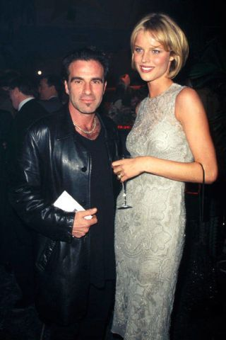 Eva Herzigova and Tico Torres