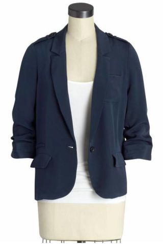 Elizabeth and James Conrad blazer
