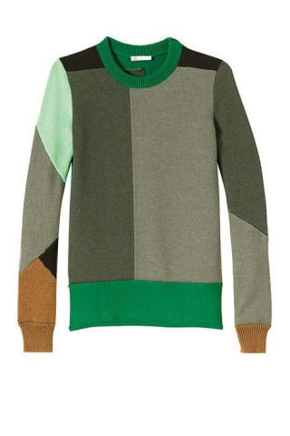 Wool-knit sweater, Chloé