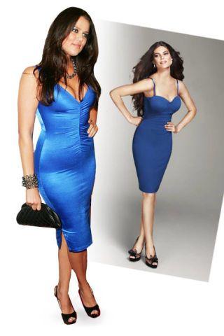 Khloe Kardashian Dress