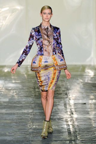 Mary Katrantzou runway