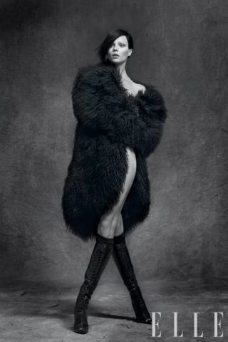 Mongolian fur coat, Emporio Armani