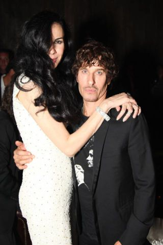 L'Wren Scott and Steven Klein.