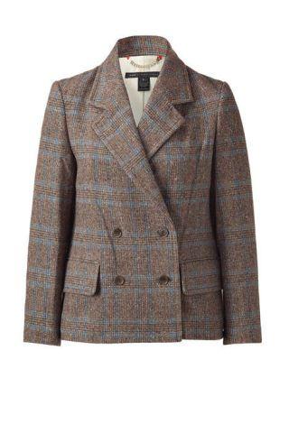 Marc by Marc Jacobs brown tweed jacket