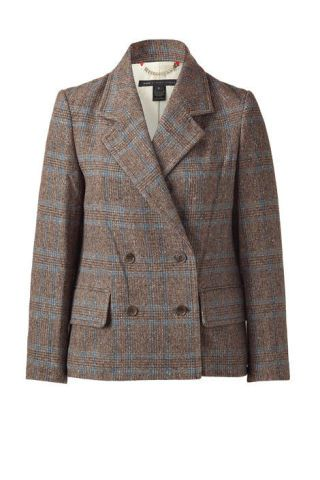 Marc by Marc Jacobs brown tweed jacket