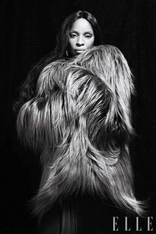 Handwoven goat-fur jacket
