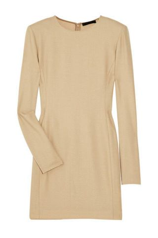 The Row rexton wool-blend dress