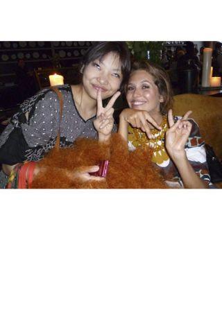 Erina Matsui and Dasha Zhukova