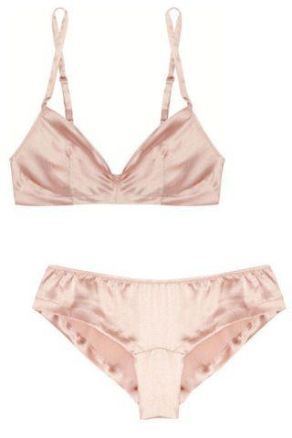 Rituel by Carine Gilson stretch-silk bra