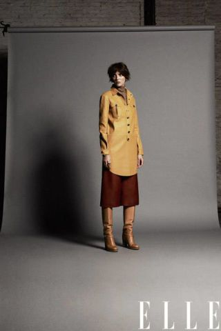 Leather dress, Tommy Hilfiger