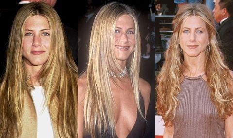 Jennifer Anistons Hairstyles
