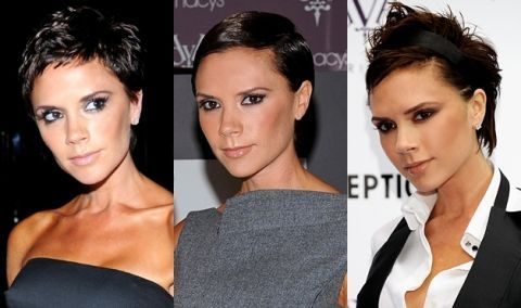 Victoria Beckhams Hairstyles Short Cuts And Beyond